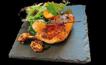 フランス産バルバリー鴨のコンフィ