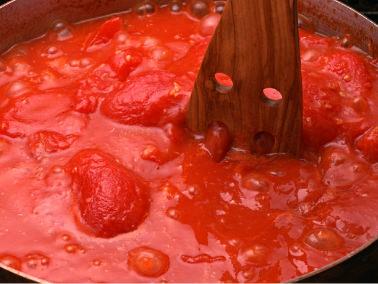 ピッツァの美味しさの秘密5 トマトソース